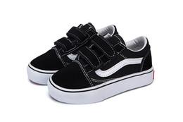Vans Old Skool low-top CLASSICS 2018 Marca Niños Zapatos casuales juventud  Niños Niñas Zapatillas Zapatos corrientes babay Niños zapatillas de lona  zapatos ... c7045df11eb