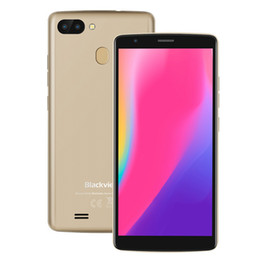 Gps 2gb NZ - 5.5 inch HD+ 18:9 Blackview A20 Pro 4G LTE 64-Bit Quad Core MTK6739 2GB 16GB Android 8.1 Fingerprint GPS 8.0MP Dual Rear Camera Smartphone