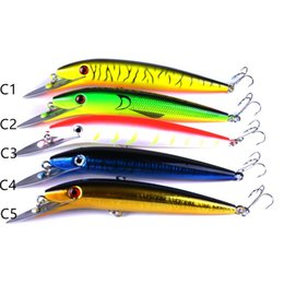 Chinese  2018 Big Game Minnow Saltwater Fishing Lure BASS Crankbait 45g 20cm Deep Diving Swimming Artificial Laser bait manufacturers