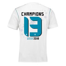 $enCountryForm.capitalKeyWord UK - 13 Champion Real Madrid Home white Soccer Jersey 17 18 Real Madrid soccer shirt 2018 Ronaldo Bale 13 Champion Football uniforms