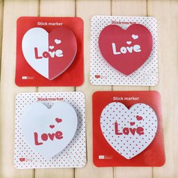 Discount diary stickers labels - 80pcs Cute Love Pattern Sticky Note Memo Pad Decoration DIY Diary Scrapbooking Label N Times Random Color Stickers Stati