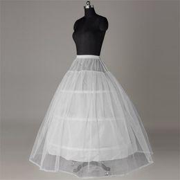 Petticoats Jupon Mariage 2019 New Elastic Waist White Tulle 4hoops Petticoats Wholesale Enaguas Para El Vestido De Boda Cheap Wide Selection; Wedding Accessories
