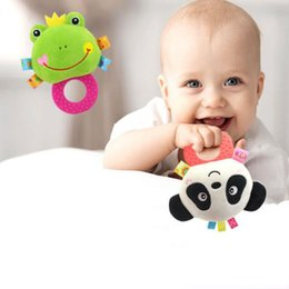 $enCountryForm.capitalKeyWord NZ - Wholesale- 1Pc Lovely Plush Baby Rattle Toy Hot Animal Infant Hand Bells Doll Kids Development Educational Toys Christmas Gift