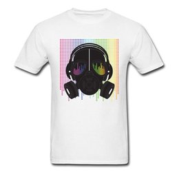 52f11f8a Custom DJ Masked T Shirts 2018 Latest Design Pure Cotton O Neck Tops T-Shirt  For Male Hip Hop Dance Tee Shirts On Sale