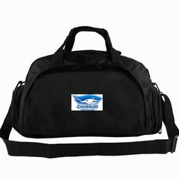 shark backpack NZ - Chonburi duffel bag FC shark tote Thailand football club backpack Soccer team badge luggage Sport shoulder duffle Outdoor sling pack