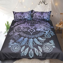 $enCountryForm.capitalKeyWord Canada - 3D Bedding Sets Duvet Covers Polyester Bed Sheets Wolves Heart Cartoon Printing 3pcs Twin Full Queen King Size Night Guardian By JoJoesArt