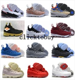 boxing games 2018 - LeBron shoes 15 Crimson Griffey Bright Crimson Fruity Pebbles LeBron 15 AZG First Game James 15 Outdoor Shoes size us7-u