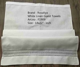 $enCountryForm.capitalKeyWord NZ - Set of 12 Fashion Handkerchiefs Towel White Hemstitched and Drawnwork Linen Guest Towels Hankie Hanky For Guest Room Decorating