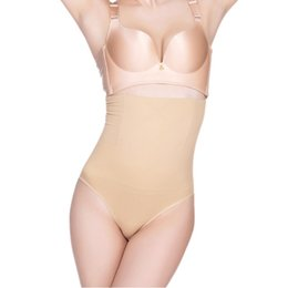 85aee3cc9c Women High Waist Butt Lifter Body Shaper Sexy Thong Underwear Waist Trainer  And Tummy Hip Control Panties Bum Lifter Shapewear