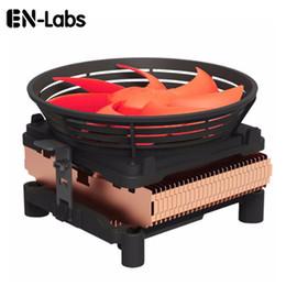 amd cpu socket am2 2019 - Wholesale-En-Labs Silent CPU Cooler w  100mm PWM 4pin Fan for Intel LGA775  LGA1155  LGA1156,AMD Socket 754  939  AM2  A