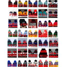 Beach hat models online shopping - New American Football team Beanies Sports Beanie Winter Knit Cuff Beanies Hats Accept Mix Order Thousands of Models