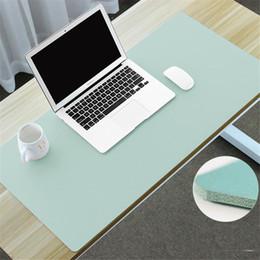 600X300mm Large Mouse Pad per ufficio Mouse per Laptop tastiera del computer portatile Tappetino per tavolo in morbida pelle PU per Macbook Air Pro Dell