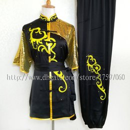 $enCountryForm.capitalKeyWord Australia - Chinese Kungfu clothes uniform Wushu Competition Costume taichi garment Routine suit changquan outfit for boy men children women girl kids