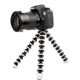 Wholesale M L Medium Large Size Camera Gorillapod Tripods Load G G Monopod Flexible Tripod Mini Travel Outdoor Digital Cameras Hoders