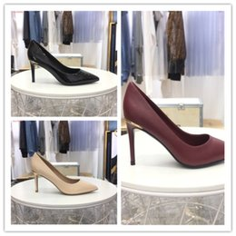 Discount stylish lady shoes heel - The latest fashion and luxury ankle wedding shoes are black casual and stylish ladies dress shoes formal shoes 8cm