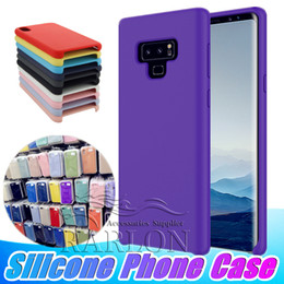 new phones 2018 - New Silicone Phone Cases Gel Rubber Soft Cushion Armor Cover Candy Case For Samsung Galaxy S9 S8 Plus Note 9 8 With Reta