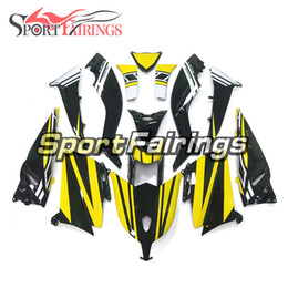 Complete Fairing Kits Yamaha Australia - TMAX XP530 Yellow Black Complete Fairing Kit For Yamaha XP530 TMAX T-MAX 2012 2013 2014 ABS Plastic Motorcycle Body Kit Bodywork Customize