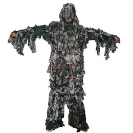 $enCountryForm.capitalKeyWord UK - Summer light and thin style Forest camouflage Bionic Ghillie Suits Paintbal camouflage hunting clothing free shipping