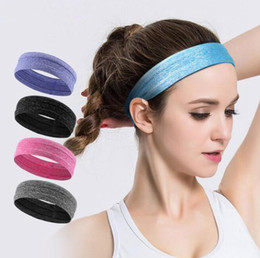 2ef9c1b6648 Unisex Turban Sports Yoga Sweatband Gym Stretch Headband Elastic Non-slip Elastic  Hair Band Headscarf Head Band Hair Accessory EEA450 50PCS