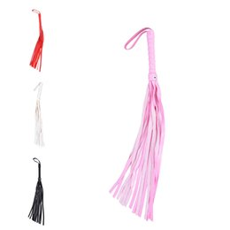 New PU Leather Bondage Whip Flogger BDSM Giocattoli per coppie Spanking Paddle Policy Knout Wedding Party Favore Decorazione