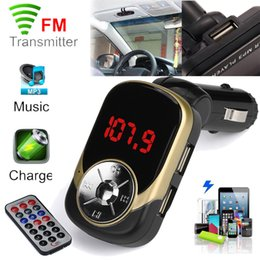 Hour Car Canada - 1PC High Quality MP3 Player Wireless FM Transmitter Modulator Car Kit USB Player Support SD TF Cards #S