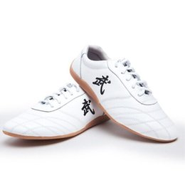 chinese traditional shoes 2019 - Chinese Traditional Martial Arts Tai Chi Kung Fu Yoga Walking Jogging Driving Shoes, Breathable Soft & Comfortable disco