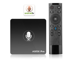 $enCountryForm.capitalKeyWord NZ - A95X Pro Voice Control Android 7.1 TV Box Amlogic S905W VP9 H.265 2GB  16GB WiFi LAN HD Media Player