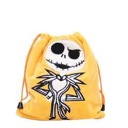 Funny coin purse online shopping - halloween skull coin purse for baby girls horror pumpkin prince jack drawstring bag funny skull drawstring bags