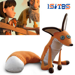 The Little Prince Fox Plush Dolls 40cm le Petit Prince stuffed animal plush education toys for baby kids Birthday Xmas Gift from flowers for wedding car decoration manufacturers