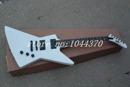$enCountryForm.capitalKeyWord Canada - Wholesale - Free Shipping White color explorer guitar electric guitar Top quality
