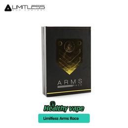 Discount racing battery box - Limitless Arms Race LMC II 220W Box Mod Arms Race Mod Powered by Dual 18650 Batteries 100% Original
