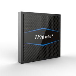 android google 2019 - 14PCS Original H96 Mini Plus 2GB 16GB Android 7.1 TV Box Amlogic S905W Support IPTV HDMI Streaming Media Player discount
