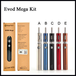 $enCountryForm.capitalKeyWord Australia - Kanger Evod Mega Kits Kangertech Evod Mega E-cigarette Starter Kit With 2.5ml Atomizer 1900 mAh Battery 100% Original