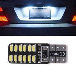led car number plate NZ - T10 194 W5W 3014 24SMD LED Canbus Error Free Car LED Wedge Width Side Light Reading Dome Map Side Marker Number Plate Lamp