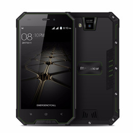 Wholesale Gps Radio Australia - Blackview BV4000 Pro Smartphone 4.7 Inch HD 2GB 16GB MTK6580A Quad Core IP68 Waterproof Android 7.0 3G Cell phone 8MP GPS