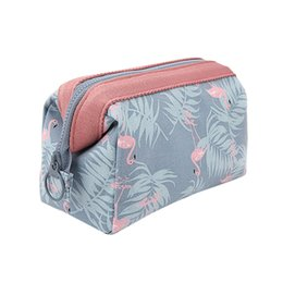 China Yesello Beautician Vanity Neceser Women Travel Toiletry Pencil Make Up Makeup Case Storage Pouch Cosmetic Bag Purse Organizer supplier making pencil case suppliers