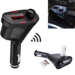 Speaker Green NZ - Car Audio Speaker Stereo Radio Player FM Transmitter T618 USB Charger With LED Screen Support SD card