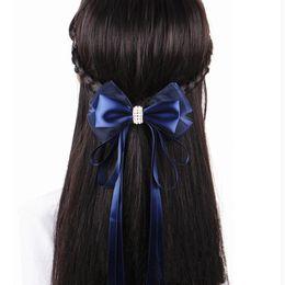 $enCountryForm.capitalKeyWord Australia - Fashion Handmade Office Lady Lace Bow Flower Pearl Tie Barrette Hair Clip Cover Bowknot Bun Snood Hair Rope
