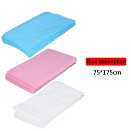 Spa Beds UK - 20 50Pcs Waterproof Disposable Massage SPA Bed Sheet Table Cover Non-Woven Cotton 68.9'' x 29.5'' Beauty Salon Massage Sheet free shipping