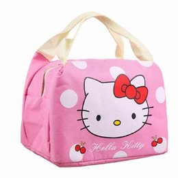 Hello Kitty Lunch Bags UK - Hello Kitty Thermal Picnic Cooler Insulated  Portable Lunch Box Bag 98e95e7df806d