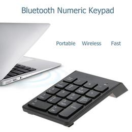 Teclado numérico KKMOON Bluetooth 3.0 teclado numérico inalámbrico Teclado numérico mini 18 teclas para iMac / MacBook / MacBook Air / Pro / iPad en venta