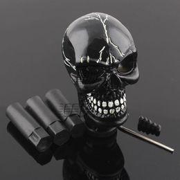 $enCountryForm.capitalKeyWord NZ - Skull Head Universal Car Truck Manual Stick Gear Shift Knob Lever Shifter Black