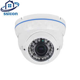 Discount infrared lenses - SSICON 2MP 4MP Varifocal Plastic Dome Camera 2.8-12mm Lens IR 20M Night Vision Infrared Security AHD CCTV Camera With OS