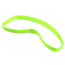 $enCountryForm.capitalKeyWord Australia - Best price Women yoga hair bands Sports Headband Anti-slip Elastic Rubber Sweatband Football Yoga Running biking