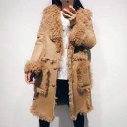 $enCountryForm.capitalKeyWord NZ - suede leather coat women real lamb skin coat shearling
