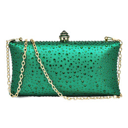 a1a4a0661599 2018 Hot Sale Evening Bags Womens Crystal Clutches and Evening Bag for Wedding  Bridal Prom Wedding Bridal Prom