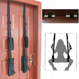 Adult furniture online shopping - 1 Set Adult Erotic Toys Sex Swing Chairs Furniture Love Door Swing SM Fetish Bondage Sex Toys for Woman Couples QQTZ15 Y18101501