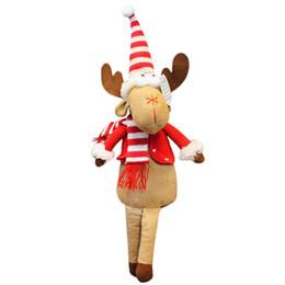 $enCountryForm.capitalKeyWord NZ - Christmas Pendant Drop Orname Christmas deer ornaments Doll Toy Xmas Elk Table for home shop window kerst decorate hout