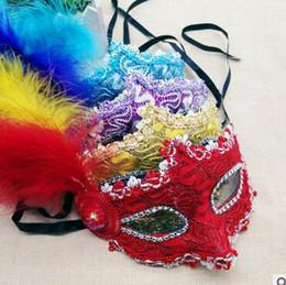 $enCountryForm.capitalKeyWord Australia - a111 Glow mask bar masquerade female half face adult party mask