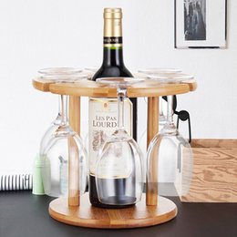 Home 1pc Without Cup Gold Silver Metal Wine Cup Rack Stand Holder Dolls House Miniature Dining Room Pub Bar Accessory
